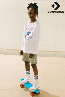 Converse Infant White Chuck Hi