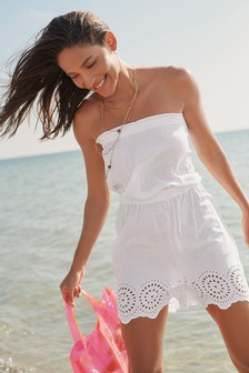 d9ad13a3b27 Women s holiday shop Playsuits White