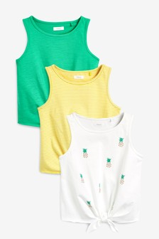 3 Pack Pineapple Vests (3-16yrs)
