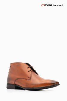 Base London® Tan Foyle Lace Up Chukka Boot