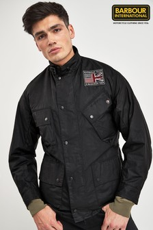 Barbour® International Black Josh Jacket