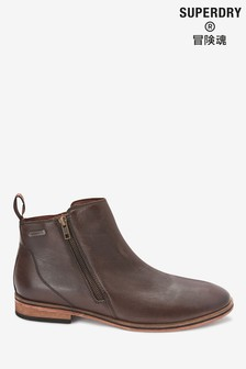 Superdry Brown Trenton Boots