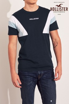 Hollister Navy Side Block T-Shirt