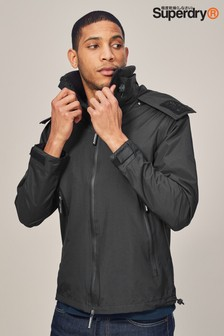 Superdry Black Lightweight Windcheater