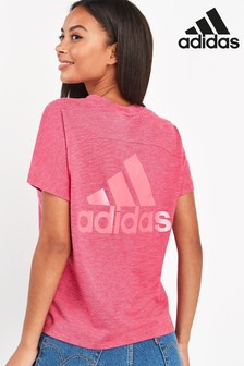 adidas Pink Win At T-Shirt