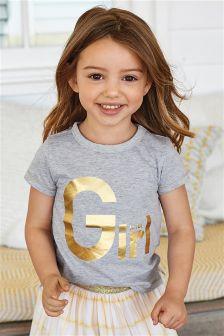 Girl T-Shirt (3mths-6yrs)