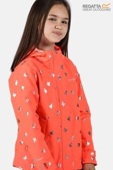 Regatta Orange Bibiana Waterproof Jacket