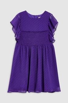 Spot Party Dress (3-16yrs)