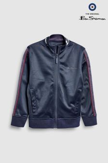 Ben Sherman Navy Funnel Jacket