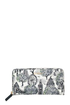 Cath Kidston® London Toile Continental Zip Wallet