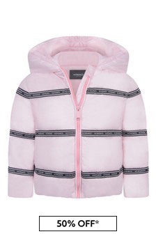 Baby Girls Pink Down Jacket