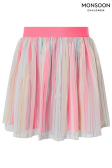 Monsoon Sophia Stripe Skirt