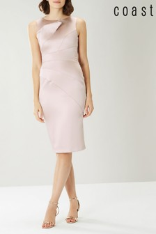 Coast Pink Aimee Manipulated Shift Dress