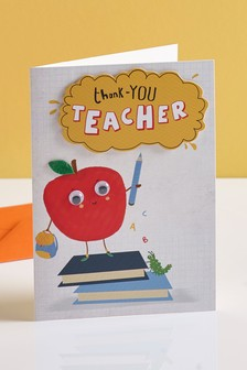 Thank You Teacher Apple Card