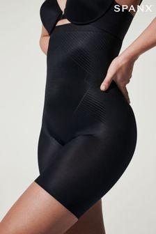 Spanx Black High Waist Mid Thigh Shorts