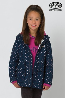 Animal Navy Pink Spots Mini Bryndley 1K Lamination Jacket