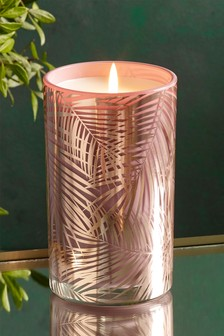 Pomelo & Ginger Pillar Candle