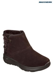 Skechers® Brown On The Go Joy Boot