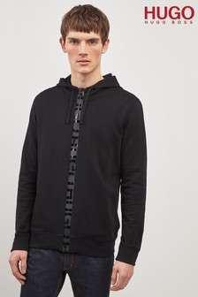 HUGO Black Daple Zip Hoody