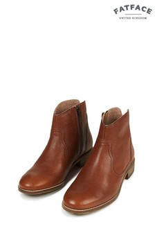 FatFace Chestnut Finkley Ankle Boot