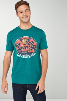 Speed Shop Graphic T-Shirt