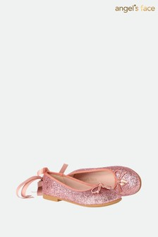 Angel's Face Pink Lillie Pumps