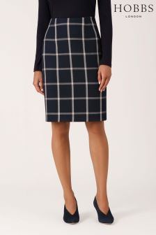 Hobbs Blue Nora Skirt