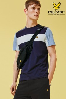 Lyle & Scott Panel Colourblock T-Shirt