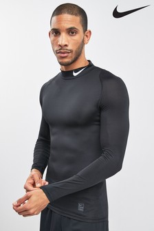 Nike Black Long Sleeve Base Layer
