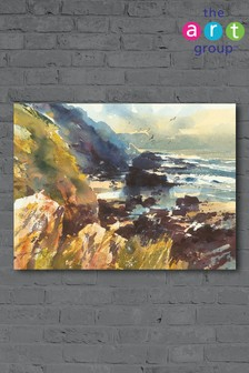 Tidal Beach by Chris Forsey Canvas
