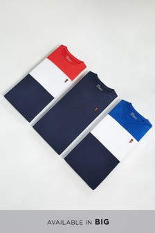 Colourblock T-Shirts Three Pack