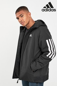 adidas Stripe Hooded Jacket