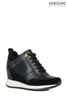 Geox Women's Nydame Black Shoe