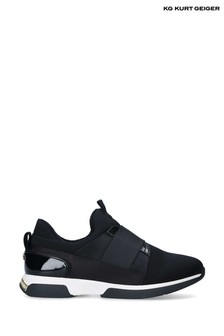 Kurt Geiger London Black Krista Trainers