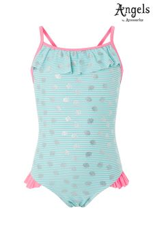 Angels By Accessorize Under The Sea Stripe Swimsuit