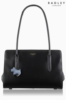 Radley Black Medium Tote Shoulder Zip Top Bag