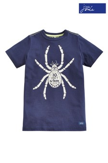 Joules Blue Ben Screen Print T-Shirt