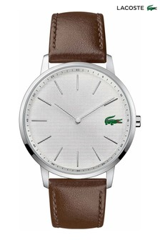 Lacoste Brown Leather Moon Watch