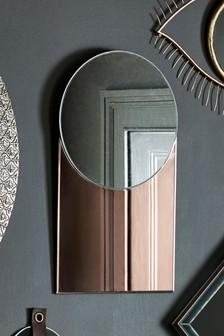 Specchio oro rosa