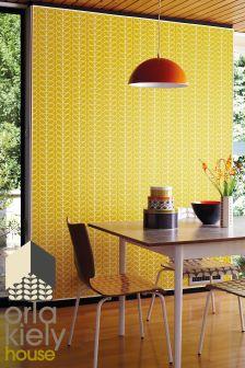 Orla Kiely Linea Stem Mimosa Wallpaper