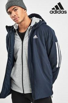 adidas Stripe Hooded Jacket