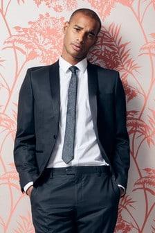 Slim Fit Shawl Tuxedo Suit: Jacket
