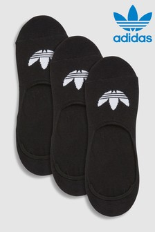 adidas Originals Black No Show Socks Three Pack