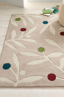 Craft Leaf Rug
