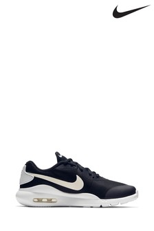Nike Black/White Air Max Oketo Youth Trainers