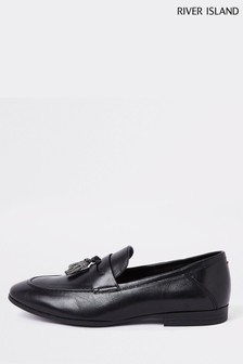 River Island Check Loafer
