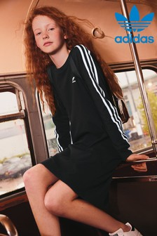 adidas Originals Black 3 Stripe Dress