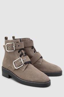 Signature Comfort Buckle Boots