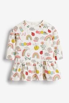 Caterpillar Print Jersey Dress (0mths-2yrs)