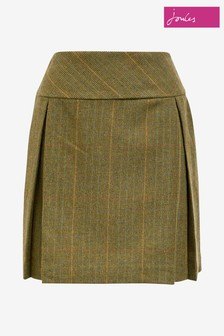Joules Aggie Mrtoad Tweed A-Line Skirt
